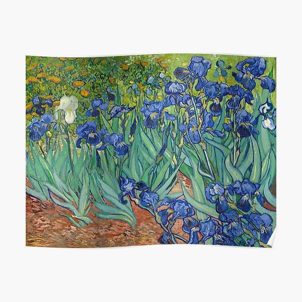 "Vincent Van Gogh ""Iris"" 1889 Poster"