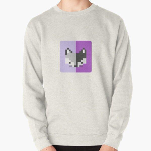 Mapache pixel Sudadera sin capucha