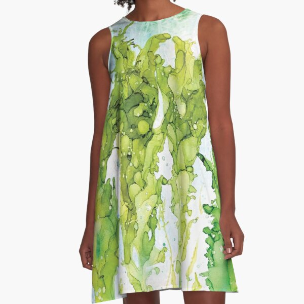 Alga A-Line Dress