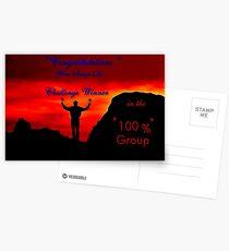 CHALLENGE WINNER Postcards