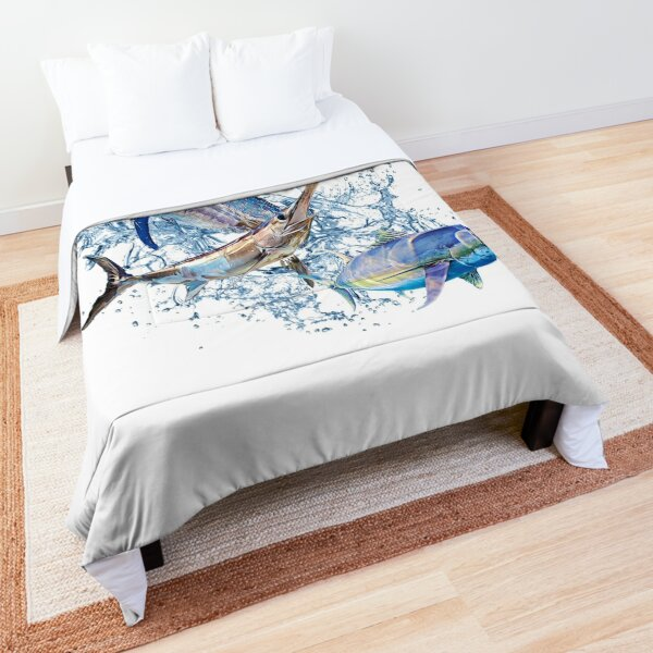 Blue Marlin Swordfish Tuna Comforter