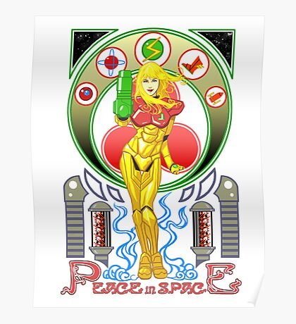 Let's Pray for Peace in Space Poster