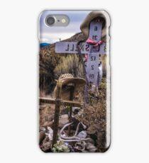 Lápida Sepulcral iPhone Case/Skin