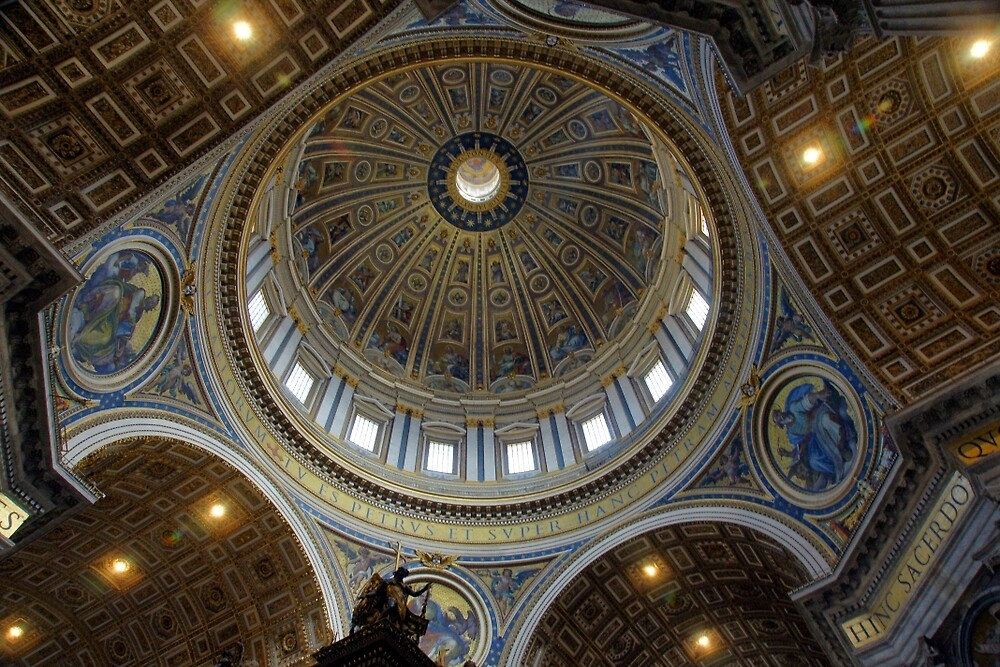 St Peter's Basilica  by Harry Oldmeadow