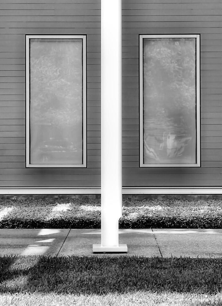 deux fenêtre, noire et blanche by SuddenJim