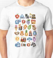 Alphabet  Slim Fit T-Shirt