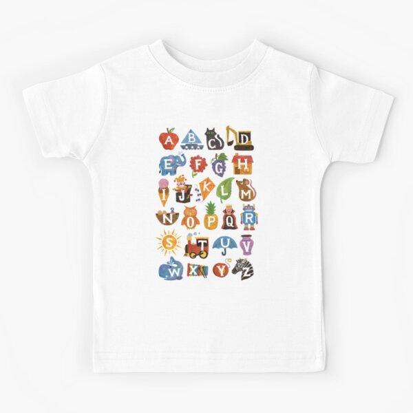 Alphabet  Kids T-Shirt