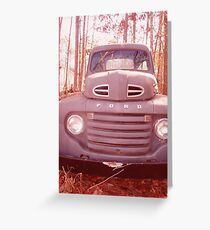 FORD TRUCK Greeting Card