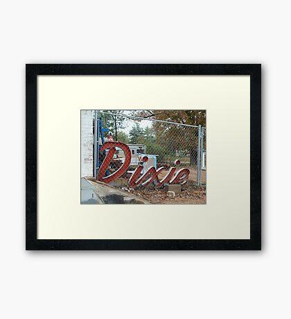 Dixie Framed Print