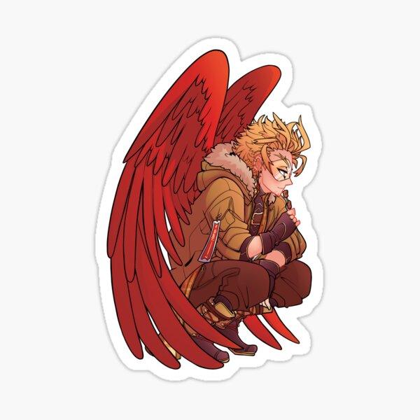 Chicken Hawks Sticker