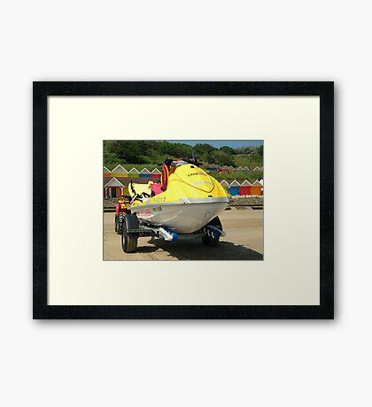 Jet Ski Rescue Framed Print