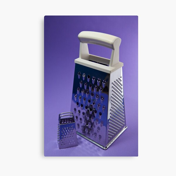 Kitchen Rhapsody: The Grater and the Lesser Canvas Print