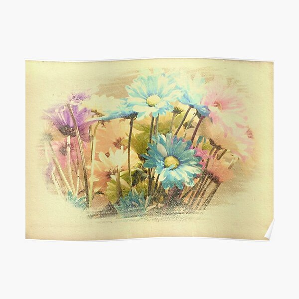 Birthday Flowers!!! Poster