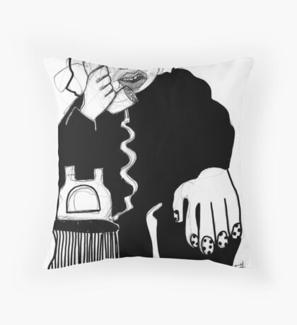 Hi.. Did you need a hand? Throw Pillow
