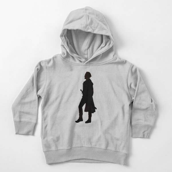 Captain Flint Silhouette Toddler Pullover Hoodie