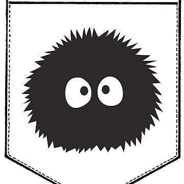 Soot Gremlin Pocket by oreophan