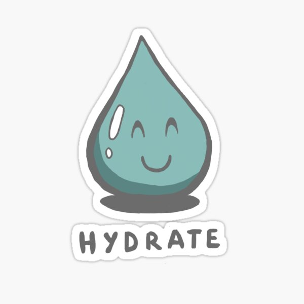 Hydrate Sticker