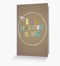 Adventure Book Greeting Card