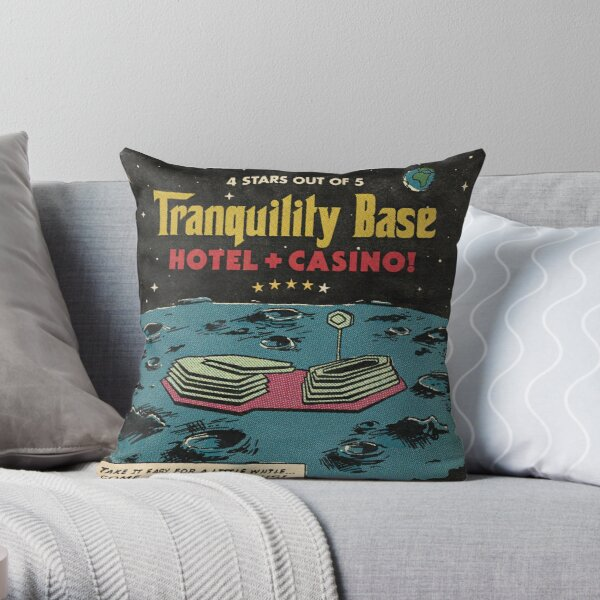 Tranquility Base Throw Pillow