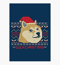 Such Christmas! Photographic Print