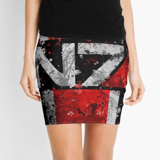 Mass Effect N7 Splatter  Mini Skirt