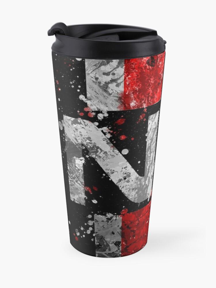 Alternate view of Mass Effect N7 Splatter  Travel Mug