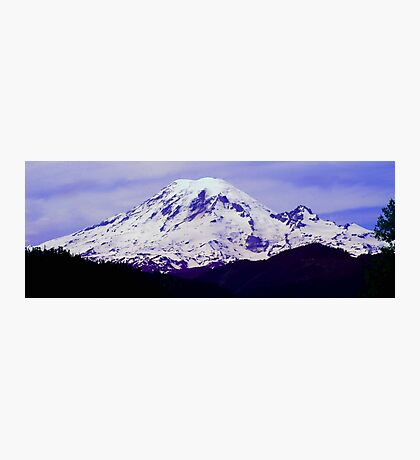 Mt. Rainier Panoramic in HDR Photographic Print