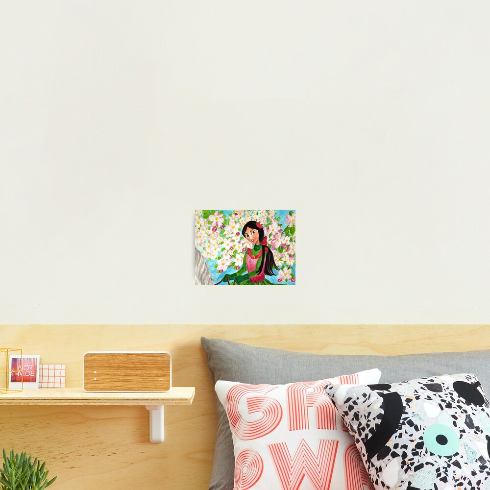 Princess Precious - In the Spring - Wall Art Photographic Print