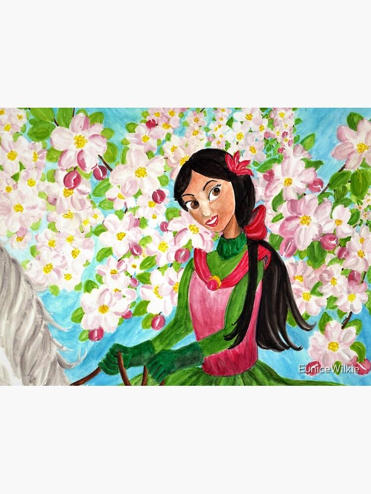 Princess Precious - In the Spring - Wall Art by EuniceWilkie