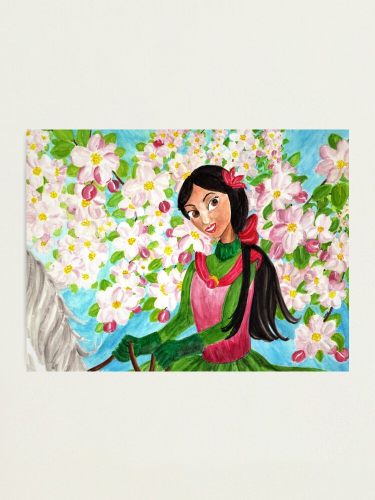 Alternate view of Princess Precious - In the Spring - Wall Art Photographic Print