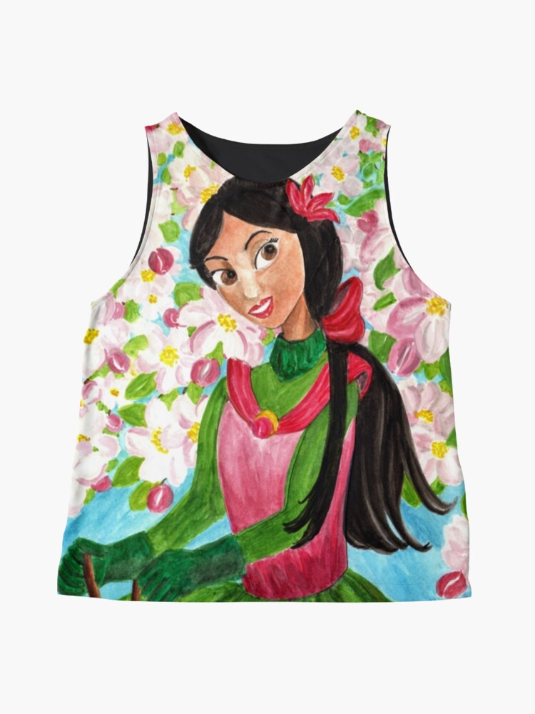 Alternate view of Princess Precious - In the Spring - Scarf and Clothing Sleeveless Top