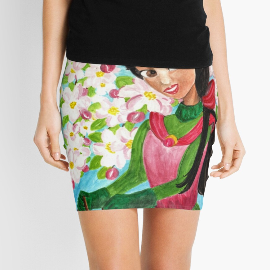 Princess Precious - In the Spring - Scarf and Clothing Mini Skirt
