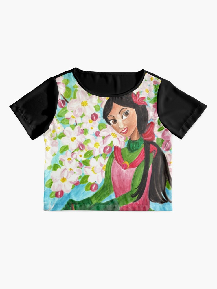 Alternate view of Princess Precious - In the Spring - Scarf and Clothing Chiffon Top