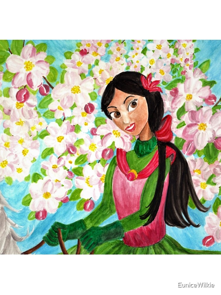 Princess Precious - In the Spring - Scarf and Clothing by EuniceWilkie