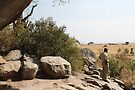 Maasai Rock Art Site, Tanzania by Carole-Anne
