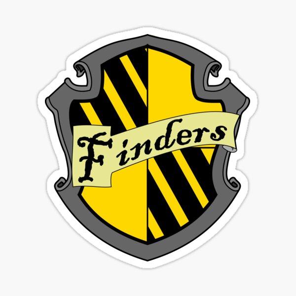 Finders Crest Sticker