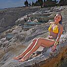 The Girl in the Yellow Bikini by Peter Hammer