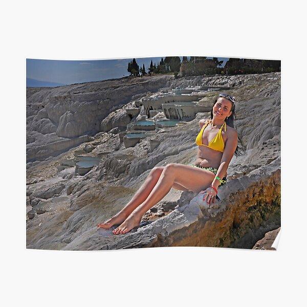 The Girl in the Yellow Bikini Poster