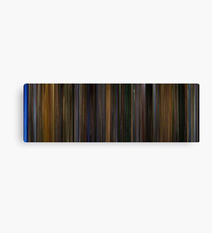 Moviebarcode: Gattaca (1997) Canvas Print