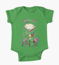 Little Green Teapot TShirt by Karin Taylor One Piece - Short Sleeve