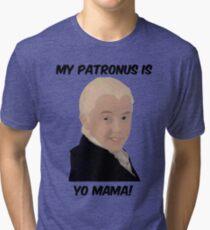 Malfoy - My Patronus Is Yo Mama Tri-blend T-Shirt