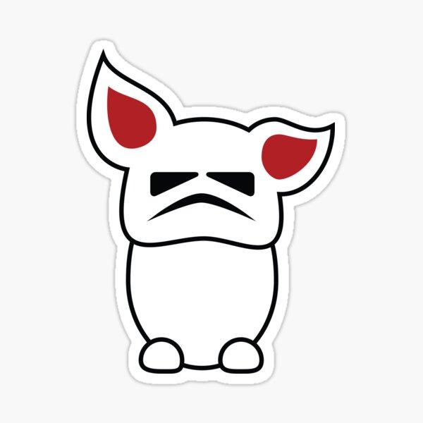 Vorpal Trooper Bunny Sticker