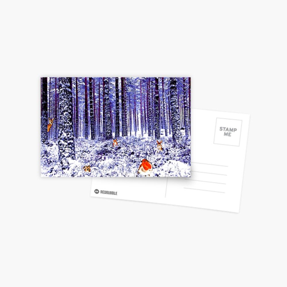 Winter Wonderland - Postcard Postcard