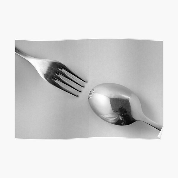 Kitchen Rhapsody: Pointed and Rounded Poster