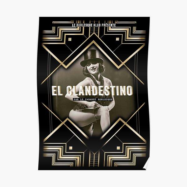 El Clandestino Cabaret Poster