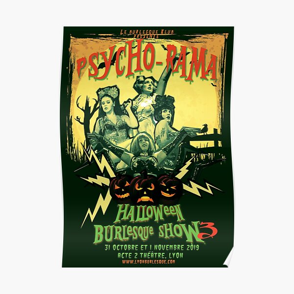 Psycho-Rama Poster