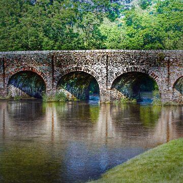 Withypool Bridge by CatherineV