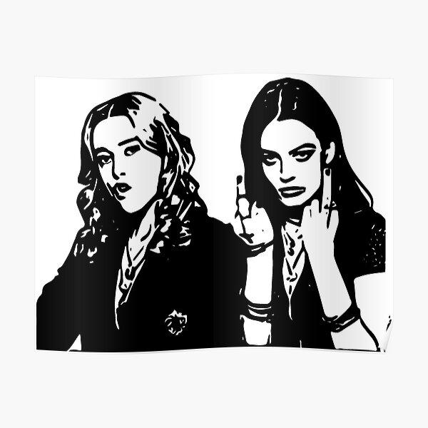Aimee Lou Wood et Maeve Wiley | Éducation sexuelle Poster