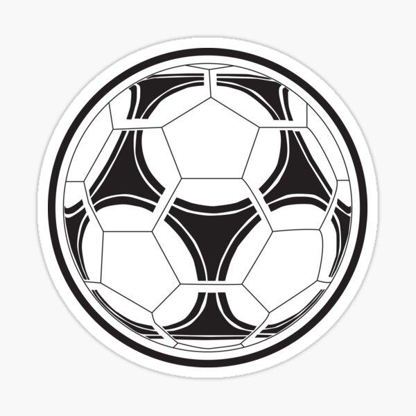 Juventus Soccer Ball Sticker