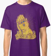 In Gems We Trust Classic T-Shirt